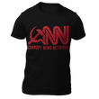 Load image into Gallery viewer, Right Wing Gear Men's T-Shirt Black / S Corrupt News Network Men's Cotton Tee Shirt (3 Variants)