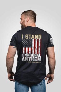 Nine Line Apparel Men's T-Shirt Black / S Men's T-Shirt - I Stand (3 Variants)
