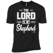 Load image into Gallery viewer, American Patriots Apparel Men's T-Shirt Black / S The Lord Is My Shepherd Premium T-Shirt (3 Variants)