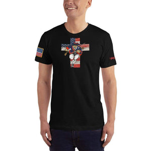 American Patriots Apparel Men's T-Shirt Black / XS American Patriots for God and Country Cross Logo 'Merica Tee (14 Variants)