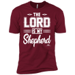 Load image into Gallery viewer, American Patriots Apparel Men's T-Shirt Cardinal / M The Lord Is My Shepherd Premium T-Shirt (3 Variants)