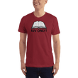 Load image into Gallery viewer, American Patriots Apparel Men's T-Shirt Cranberry / XL KJV ONLY Psalm 12:6-7 T-Shirt (16 Variants)