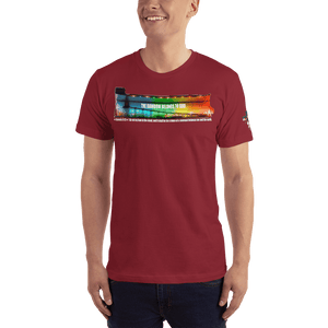 American Patriots Apparel Men's T-Shirt Cranberry / XS The Rainbow Belongs To God Genesis 9:13 Noah's Ark Tee (13 Variants)