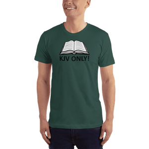 American Patriots Apparel Men's T-Shirt Forest / S KJV ONLY Psalm 12:6-7 T-Shirt (16 Variants)