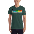 Load image into Gallery viewer, American Patriots Apparel Men's T-Shirt Forest / XS The Rainbow Belongs To God Genesis 9:13 Noah's Ark Tee (13 Variants)