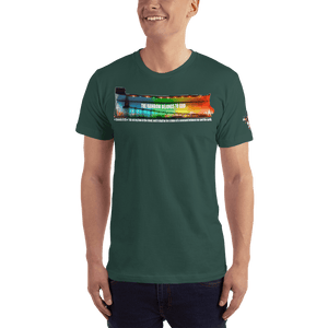 American Patriots Apparel Men's T-Shirt Forest / XS The Rainbow Belongs To God Genesis 9:13 Noah's Ark Tee (13 Variants)