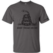 Load image into Gallery viewer, Gadsden and Culpeper Men's T-Shirt Front Print Gadsden T-Shirt (2 Variants)