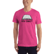 Load image into Gallery viewer, American Patriots Apparel Men's T-Shirt Fuchsia / S KJV ONLY Psalm 12:6-7 T-Shirt (16 Variants)