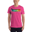 Load image into Gallery viewer, American Patriots Apparel Men's T-Shirt Fuchsia / XS The Rainbow Belongs To God Genesis 9:13 Noah's Ark Tee (13 Variants)
