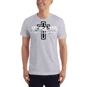 American Patriots Apparel Men's T-Shirt Heather Grey / S Jesus Is My Homeboy Black Cross T-Shirt (13 Variants)