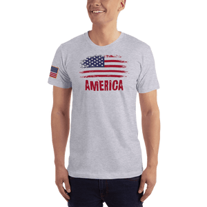 American Patriots Apparel Men's T-Shirt Heather Grey / XS AMERICA T-Shirt (13 Variants)