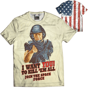 Print Brains Men's T-Shirt I Want You Mattis Tee / White / XS I Want You Mattis Tee