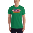 Load image into Gallery viewer, American Patriots Apparel Men's T-Shirt Kelly Green / S PATRIOT Hero's Pride T-Shirt (16 Variants)