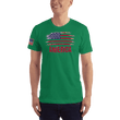 Load image into Gallery viewer, American Patriots Apparel Men's T-Shirt Kelly Green / XS AMERICA T-Shirt (13 Variants)
