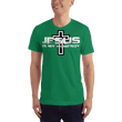 Load image into Gallery viewer, American Patriots Apparel Men's T-Shirt Kelly Green / XS Jesus Is My Homeboy Black Cross T-Shirt (13 Variants)