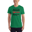 Load image into Gallery viewer, American Patriots Apparel Men's T-Shirt Kelly Green / XS Jesus Loves You This I Know T-Shirt (13 Variants)