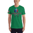 Load image into Gallery viewer, American Patriots Apparel Men's T-Shirt Kelly Green / XS Molon Labe Spartan Helmet T-Shirt (13 Variants)