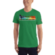 Load image into Gallery viewer, American Patriots Apparel Men's T-Shirt Kelly Green / XS The Rainbow Belongs To God Genesis 9:13 Noah's Ark Tee (13 Variants)