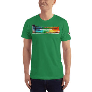 American Patriots Apparel Men's T-Shirt Kelly Green / XS The Rainbow Belongs To God Genesis 9:13 Noah's Ark Tee (13 Variants)