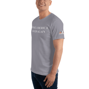 American Patriots Apparel Men's T-Shirt Make America Saved Again 1 Cor. 15:1-4 Short Sleeve Tee (16 Variants)