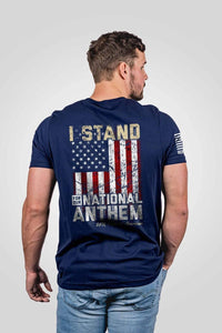 Nine Line Apparel Men's T-Shirt Men's T-Shirt - I Stand (3 Variants)