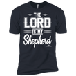 Load image into Gallery viewer, American Patriots Apparel Men's T-Shirt Midnight Navy / M The Lord Is My Shepherd Premium T-Shirt (3 Variants)