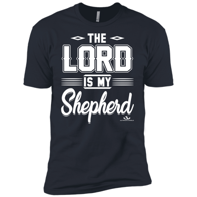 American Patriots Apparel Men's T-Shirt Midnight Navy / M The Lord Is My Shepherd Premium T-Shirt (3 Variants)