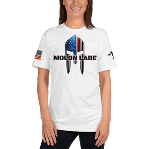 American Patriots Apparel Men's T-Shirt Molon Labe Spartan Helmet T-Shirt (13 Variants)