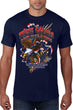 Load image into Gallery viewer, American Patriots Apparel Men's T-Shirt Navy / 5XL / FRONT These Colors Don't Take A Knee Short Sleeve T-Shirt (8 Variants)
