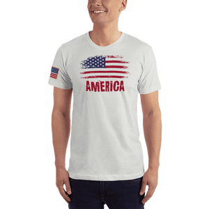 American Patriots Apparel Men's T-Shirt New Silver / XS AMERICA T-Shirt (13 Variants)