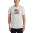 Load image into Gallery viewer, American Patriots Apparel Men's T-Shirt New Silver / XS God Bless America Distressed Flag T-Shirt (13 Variants)