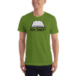 Load image into Gallery viewer, American Patriots Apparel Men's T-Shirt Olive / S KJV ONLY Psalm 12:6-7 T-Shirt (16 Variants)