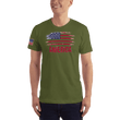 Load image into Gallery viewer, American Patriots Apparel Men's T-Shirt Olive / XS AMERICA T-Shirt (13 Variants)