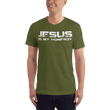 Load image into Gallery viewer, American Patriots Apparel Men's T-Shirt Olive / XS JESUS IS MY HOMEBOY T-Shirt (13 Variants)