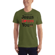 Load image into Gallery viewer, American Patriots Apparel Men's T-Shirt Olive / XS Jesus Loves You This I Know T-Shirt (13 Variants)