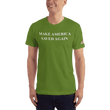 Load image into Gallery viewer, American Patriots Apparel Men's T-Shirt Olive / XS Make America Saved Again 1 Cor. 15:1-4 Short Sleeve Tee (16 Variants)