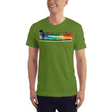 Load image into Gallery viewer, American Patriots Apparel Men's T-Shirt Olive / XS The Rainbow Belongs To God Genesis 9:13 Noah's Ark Tee (13 Variants)