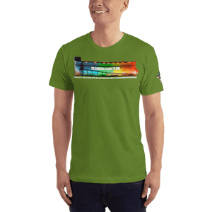 American Patriots Apparel Men's T-Shirt Olive / XS The Rainbow Belongs To God Genesis 9:13 Noah's Ark Tee (13 Variants)