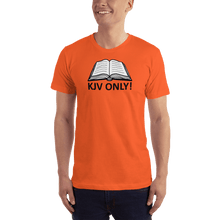 Load image into Gallery viewer, American Patriots Apparel Men's T-Shirt Orange / S KJV ONLY Psalm 12:6-7 T-Shirt (16 Variants)