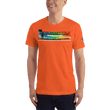 Load image into Gallery viewer, American Patriots Apparel Men's T-Shirt Orange / XS The Rainbow Belongs To God Genesis 9:13 Noah's Ark Tee (13 Variants)