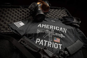 Howitzer Clothing Men's T-Shirt Patriot Flag Tee