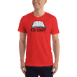 Load image into Gallery viewer, American Patriots Apparel Men's T-Shirt Red / S KJV ONLY Psalm 12:6-7 T-Shirt (16 Variants)