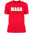 Load image into Gallery viewer, CustomCat Men's T-Shirt Red / X-Small Unisex MAGA Cotton T-Shirt (5 Variants)