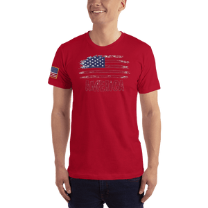 American Patriots Apparel Men's T-Shirt Red / XS AMERICA T-Shirt (13 Variants)