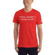 Load image into Gallery viewer, American Patriots Apparel Men's T-Shirt Red / XS Make America Saved Again 1 Cor. 15:1-4 Short Sleeve Tee (16 Variants)