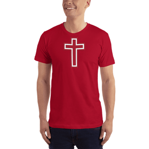 American Patriots Apparel Men's T-Shirt Red / XS Red and White Cross T-Shirt (13 Variants)