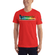 Load image into Gallery viewer, American Patriots Apparel Men's T-Shirt Red / XS The Rainbow Belongs To God Genesis 9:13 Noah's Ark Tee (13 Variants)