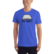 Load image into Gallery viewer, American Patriots Apparel Men's T-Shirt Royal Blue / S KJV ONLY Psalm 12:6-7 T-Shirt (16 Variants)