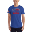 Load image into Gallery viewer, American Patriots Apparel Men's T-Shirt Royal Blue / XS AMERICA T-Shirt (13 Variants)