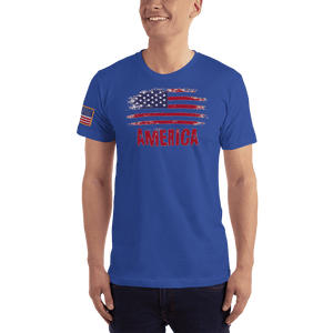 American Patriots Apparel Men's T-Shirt Royal Blue / XS AMERICA T-Shirt (13 Variants)